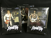 This Is Spinal Tap 12 Figures Nigel, David, Derek Unopended Boxes Sideshow Toys