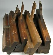 Four Side Bead Wood Planes Antique Tools