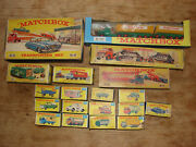 Vintage Carsall Mokomatchbox Series50`s-70and039smint-play Wornboxed.