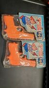 Vintage Yankee Doodle Toy Clicker Gun With Sound. Lot Of 2. New In Packages.