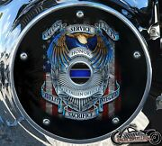 Harley Davidson Narrow Profile Derby Cover 2016-2021 Touring Fallen Officers