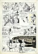 Space 1999 Magazine 7 Page 49 Original Art By Carl Potts And Neal Adams 1976
