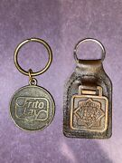 Lot Of 2 Vintage Frito Lay Keychains 1987 88 Bicentennial Usa Constitution Rare