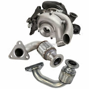 Turbo Turbocharger W/ Up Pipes For Ford F250 Super Duty 6.7 Powerstroke 11-14
