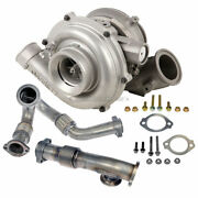 For Ford F250 F350 F450 6.0l Powerstroke Diesel Turbo W/ Charge Pipe Kit Csw
