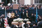 Jesse Jackson At Funeral Of Martin Luther King 1968