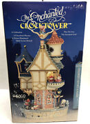 1993 Enesco Gilmore And Lui Designs The Enchanted Clock Tower Rare New Rhymes Nice