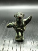 Roman Cerberus Bronze Figurine Dating From The 2nd Century A.d.