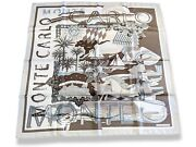 Hermes 2008 Beige/etoupe Special Issue Monte Carlo By J. Metz, Twill 90, Box