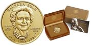 Usa 10 Barbara Bush 2020 Uncirculated First Spouse Gold Mintage 2000 Selten