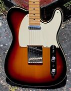 1988 Fender Telecaster Custom Replica By Chandler And Warmoth Done Beautifully