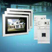 7 Wired Video Door Entry Security Intercom+ir Night Vision For Apartment