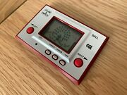 Nintendo / Cgl Game And Watch Ball Ac-01 1980 Lcd Electronic Game - Near Mint.