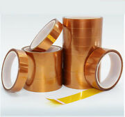 Double-sided Adhesive Tape 3-100mm 10m High Temperature Heat Resistant Polyimide