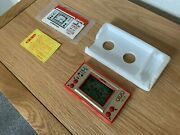 Rare Nintendo Game And Watch Mickey Mouse Vintage 1981 Lcd Game - Near Mint.
