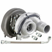 Turbo Turbocharger W/ Gaskets And Oil Line For Dodge Ram Cummins Kit