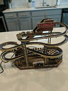 For Parts Or Repair Mr Christmas Gold Label World's Fair Tornado Roller Coaster