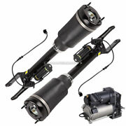 Front Air Struts W/ Compressor For Mercedes Ml63 Amg 2007 New Pair Arnott
