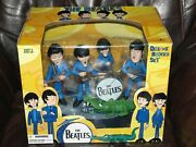 The Beatles Deluxe Boxed Set - Mcfarlane Cartoon Figures - New In The Box