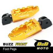 Cnc Front Rider Wide Footpegs Laser Logo For Mv Agusta Dragster 800 Rr 15-19 18