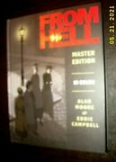 Allan Moore/ Eddie Campbell From Hell Master Edition Hard New Mint Unread