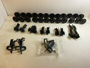 Bachmann, Aristo-craft, Usa Trains G-scale Knuckle Couplers And Plastic Wheels