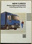 Iveco Ford Cargo Commercial Sales Literature Pack Brochures 1986 Br15a And Br15b