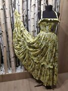 Dolce And Gabbana Long Maxi Dress Size 42 Rare Sold Out