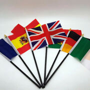Hand Table Flag Europe Flags All Countries Without Base Country Display Eu 6 X 4