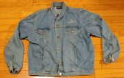 Vintage Britches Great Outdoors Bellsouth Mobility Denim Truckers Jacket Mens Xl
