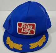 Vintage Frito Lay Patch Snapback Truckers Hat Scrambled Eggs