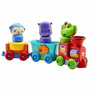 Fisher-price Silly Safari Rattle And Roll Animal Train, Multicolor