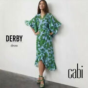 Cabi New Nwt Derby Drama Dress 5815 Green And Blue Was 139 Stunning