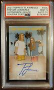 2021 Topps X Trevor Lawrence Rc Auto /25 Psa 9 Pop 1 None Higher Lawrence Bros