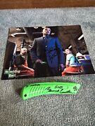 Giancarlo Esposito Signed Green Box Cutter Gus Fring Breaking Bad Jsa And Photo
