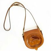 Dooney And Bourke Large Duck Rare Usa Made Petite Leather Crossbody Shoulder Bag