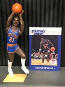 1988 Gerald Wilkins Starting Lineup New York Knicks Figure Card Toy Tennessee Ny