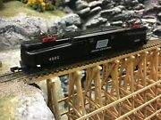 Arnold N Scale Gg1 Locomotive Black Penn Central Tested Runs Very Well No Case