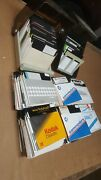 Vtg Commodore 64 Computer 300 + Lot Of 5- 1/4 Floppy Disks And 2 Disk Banks Asis