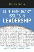 Contemporary Issues In Leadership Mint Rosenbach William E. Taylor And Francis I