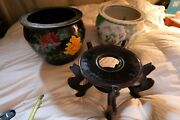 Vintage Chinese Large Indoor Planters Ceramic Local Pickup