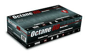 Case Of 10 Boxes 100ct Octanehd 6mil Black Nitrile Gloves 1000ct Total
