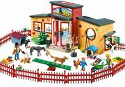 Playmobil Tiny Paws Pet Hotel Doll Building Kids Fun Pretend Toy Gift Playset