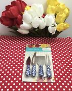 Pioneer Woman Cheese Knives Cutting Kit. New