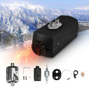 Air Diesel Parking Fuel Heater 12v 5kw Lcd Switch 10l Tank For Trucks Buses Cars