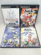 Dot .hack Quarantine Part 1-4 Sony Playstation 2   Ps2 Complete In Box Cib