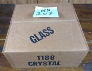 Votive Cups Set Of 4 Homco Home Interior Crystal Clear Glass Nib 1186