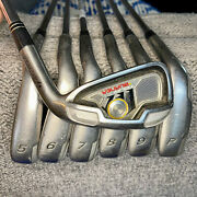 Exc Taylormade Burner Tour Iron Set 4-pw Right-handed Steel Shafts Rh Golf Clubs