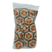 """New Vintage 13"""" Oven And Range Mitts Country Kitchen Print Extra Long Quilted"""