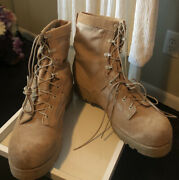 Wellco Us Army Desert Combat Boots Military Hot Weather Vibram Men's Size 15r